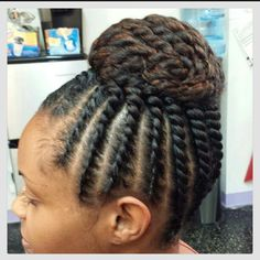 two strand twist up