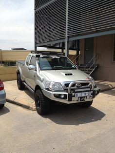Toyota Hilux lookin mint! I want one, BAD!
