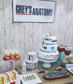 29th Birthday Parties, Birthday Party For Teens, 17th Birthday, Grey's Anatomy Mark, Grey's Anatomy Quiz, Nurse Party, Greys Anatomy Characters, Grey Stuff, Grey Anatomy Quotes