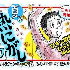 カンタン夏バテ予防!「ワキ&股関節のばし」で熱を発散...