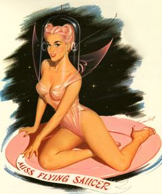 Miss Flying Saucer - by Bill Randall 1959