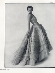 Christian Dior (Couture) 1948  Georges Saad