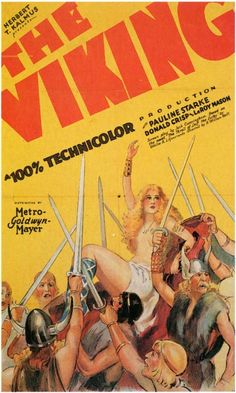 Vintage Movie Poster - 1928 the first Technicolor full length movie with a sound track