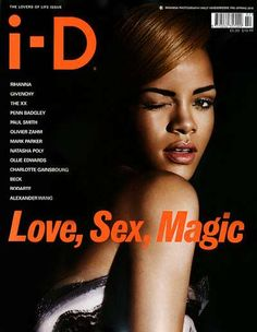 Rihanna for i-D Magazine is One of Three Awesome Cover Shots #Rihanna #Celebrity