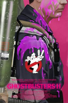 The Real Ghostbusters, Teen Posters, Film Posters, Cartoon Posters, Art Posters, Cartoons, Ghost Busters, Skottie Young, Movie Posters