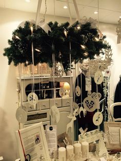 Christmas decorations. Scandinavian Christmas decorations. Systur&Makar, Christmas in Iceland. Christmas ornaments, aluminium, water jet cutting