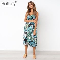 Women Boho Beach Dress Summer Sleeveless Casual Print Dress Slim High Waist Women Clothes Club Dresses Vestido Size S Color 0665 yellow Cheap Maxi Dresses, Modest Bridesmaid Dresses, Prom Party Dresses, Modest Dresses, Club Dresses, Pretty Dresses, Teen Dresses, Hoco Dresses, Quinceanera Dresses
