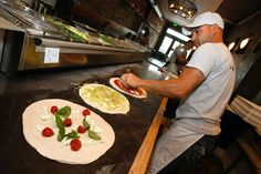 Mother Dough owner Bez Compani is serious about his pizza. He has been known to close when the dough isn't right. Los Angeles Food, Pizza, Mexican, Restaurant, Bread, Ethnic Recipes, Scene, Restaurants, Bakeries