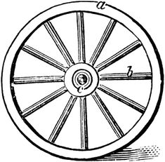 free pioneer quote free wagon wheel clip art pioneer trek rh pinterest com wheel clipart hot wheels clipart