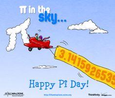 Pi in the Sky! Happy Pi Day!