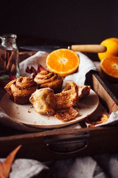 Cinnamon Orange Hazelnut Morning Buns // Hint of Vanilla Sweet Breakfast, Breakfast Time, Chocolate Brioche, Chocolate Cream, Morning Bun, Pastry Cook, Vanilla Bean Cakes, Custard Cake, Mousse Cake