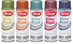 glitter clipboard spray - Google Search