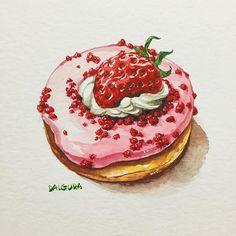 dalgura : Strawberry Dounut