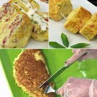 É fácil e prático! Anote três receitas deliciosas de omeletes