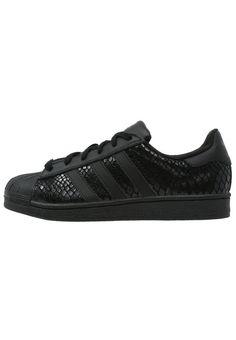 detailed look 0d012 f75f8 ¡Cómpralo ya!. adidas Originals SUPERSTAR Zapatillas core black. adidas  Originals SUPERSTAR Zapatillas core black Ofertas   Material exterior   piel piel de ...