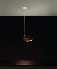 Peanut design by Oriano Favaretto | Ceiling lamp in ash wood | #light4 #design #lamp
