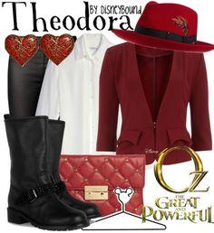 Disney Bound - Theodora (Oz the Great and Powerful)