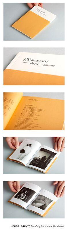 Diseño de publicación de poesía y arte gráfico #design #Asturias #poesia #art