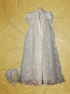 Elizabeth Silk Christening Gown