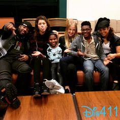 """Photos & Videos: The """"K.C. Undercover"""" Cast Live Chatting With Disney Channel…"""