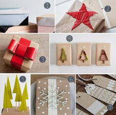 The How-To Gal: DIY Christmas Gift Wrap Guide- 2013
