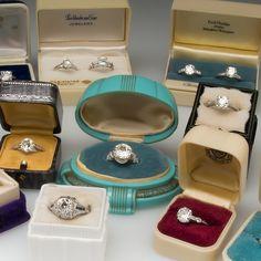 Authentic Antique Engagement Rings - EraGem
