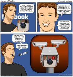 """#Instagram y la privacidad """"heredada"""" de #Facebook."""