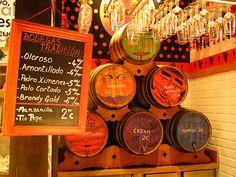 Mercado de San Miguel, Madrid.