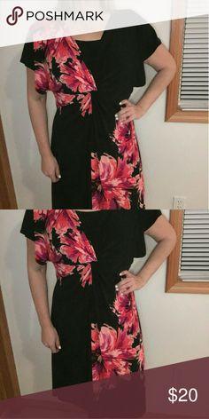 Plus Size Dress Never Worn Floral Pattern Plus Size Dress (023) Jones Studio  Dresses