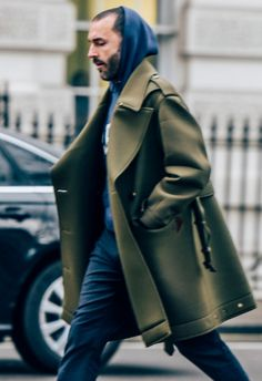 How to bring a classic coat up to date? By pairing it with a relaxed, sportier piece such as a hoodie or zip-front, high-neck track top. This sartorial clash is having a major moment in menswear – it's easy to do, keeps you warm and will add weekend credentials to your weekday outerwear. Give the pairings below a try…