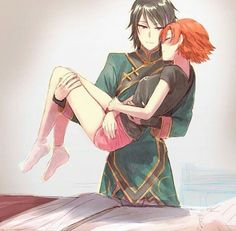 Love this! Nora x ren<<< I don't really ship this,... I think of them as siblings