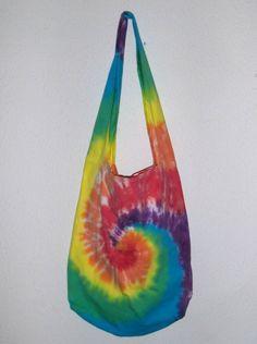 Tie Dye Heart Therapist Bag