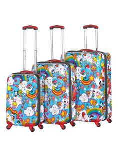 Magical World 3 piece set by Heys Luggage on Gilt.com