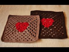 This video is about how to crochet Granny Square Heart. You can find a Chart and clear written description at my Ravelry and Craftsy stores. Please find all ...