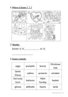 Easter handout