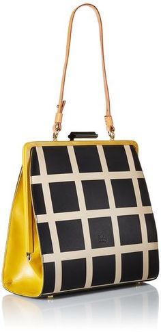 0b0b21fb5373 Orla Kiely Printed Leather Large Holly Top Handle Bag Orla Kiely Purse