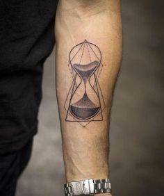 02f52325011 nice Geometric Tattoo - awesome Geometric Tattoo - Geometric hourglass  tattoo by Kristi Walls.
