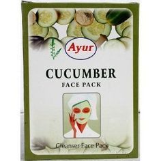 Ayur Cucumber Face Pack (Cleanser Face Pack)100g by Ayur. $10.48. Anti-ageing treatment. Strictly prepared with herbal components. removes wrinkles & fine lines on the face. cools and nourishes the skin in one step. Look great without bothering about any ill-effects on your skin. A natural cleanser and moisturizer which cools and nourishes the skin in one step, also removing wrinkles. It is an anti-ageing treatment as it removes wrinkles & fine lines on the face.