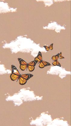 Iphone Homescreen Wallpaper, Trippy Wallpaper, Retro Wallpaper, Cartoon Wallpaper, Iphone Wallpaper Tumblr Aesthetic, Aesthetic Pastel Wallpaper, Aesthetic Wallpapers, Butterfly Wallpaper Iphone, Iphone Background Wallpaper