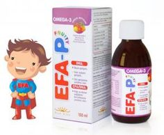 NEW LIFE EFA-P FRUITY   Günlük omega-3 ihtiyacının karşılanması istenen tüm bebekler ve çocuklar. EFA-P portakal suyu, mango püresi, muz püresi, frenk üzümü, mürver meyvesi, yaban mersini, elma ve akasya sakızı içerir.