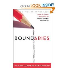 The NOOK Book (eBook) of the Boundaries: When to Say Yes, How to Say No, to Take Control of Your Life by Henry Cloud, John Townsend Boundaries Henry Cloud, Boundaries Book, This Is A Book, The Book, Book 1, Book Lists, Reading Lists, Reading Goals, Books To Read