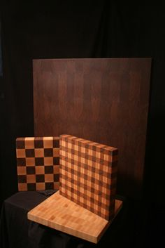 cutting boards.... I love the gingham design!!!!