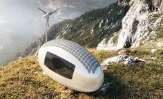 Live off-grid anywhere in the world with the Ecocapsule   Designed by the Slovakian firm Nice Architects, the Ecocapsule is fully functional off the grid.