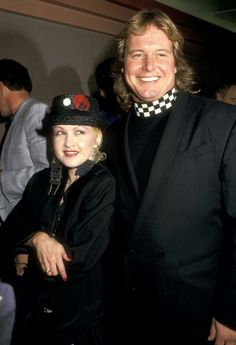 "Cyndi Lauper & ""Rowdy"" Roddy Piper Wrestling Superstars, Wrestling Wwe, Famous Wrestlers, Miss Elizabeth, Roddy Piper, John Waters, Cyndi Lauper, Child Actors, Beautiful Person"