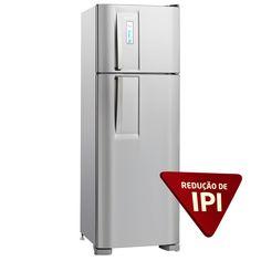 Refrigerador Electrolux Frost Free Duplex DF36X c/ Controle de Temperatura Blue Touch - 310 L - Inox - Frost Free no Extra.com.br R$1.491,51