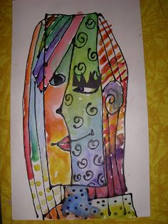 Picasso and kid art projects