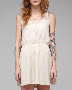 Dress + tattoo love