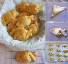 Пример #выпечка #рыбный_пирог для детей. Просто картинка.