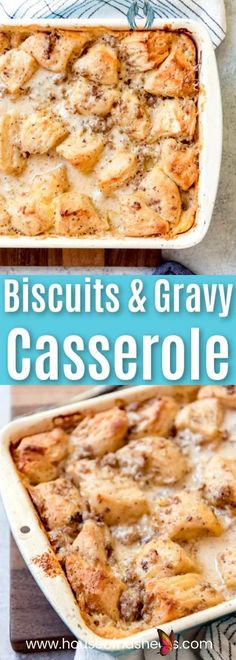 <br> Best Biscuits And Gravy, Biscuits And Gravy Casserole, Breakfast Casserole With Biscuits, Sausage Casserole, Easy Biscuits, Brunch Casserole, Vegetarian Breakfast Casserole, Savory Breakfast, Breakfast Recipes