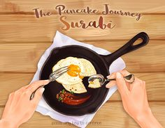 """Check out new work on my @Behance portfolio: """"Game Interface: The Pancake Journey - Surabi"""" http://be.net/gallery/52076539/Game-Interface-The-Pancake-Journey-Surabi"""